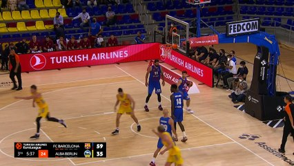 Barcelona thrashes ALBA at home | Round 1, Highlights | Turkish Airlines EuroLeague