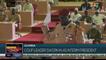 Coup leader sworn in as interim president in Guinea
