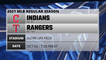 Indians @ Rangers Game Preview for OCT 02 -  7:05 PM ET