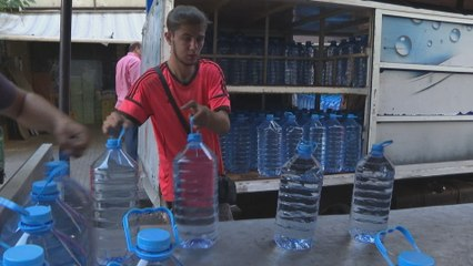 Lebanon's public water supply is at the brink of collapse