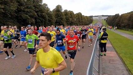 INNL Belfast city marathon start 2021