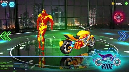 Superhero GT Bike Racing Stunt 2021 - Hill Driver - Super Mega Ramp Games Android GamePlay #4