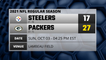 Steelers @ Packers Game Recap for SUN, OCT 03 - 04:25 PM EST