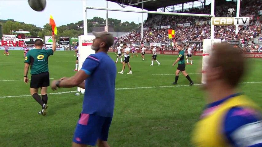 Video : Video - Top 14 2021 / 2022 Résumé CA Brive 19 - 12 Stade Français