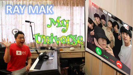 Coldplay X BTS - My Universe Piano by Ray Mak