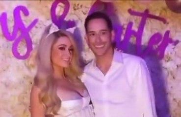 Paris Hilton e Carter Reum fazem festa de despedida de solteiro luxuosa