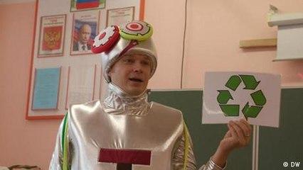 Rusia enseña en las escuelas a cuidar del medio ambiente