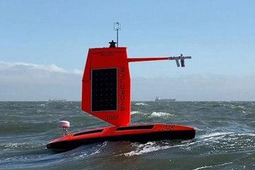 Un robot flottant filme pour la première fois un ouragan de l'intérieur