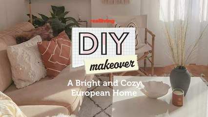 DIY Makeover: A Bright and Cozy European Home
