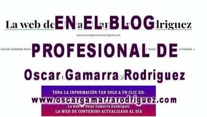 OSCAR GAMARRA RODRIGUEZ WEB  BLOG  PROFESIONAL