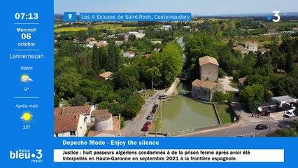06/10/2021 - Le 6/9 de France Bleu Occitanie en vidéo