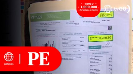 Osinergmin: Tarifa eléctrica residencial se elevó 4.81% en octubre   Primera Edició