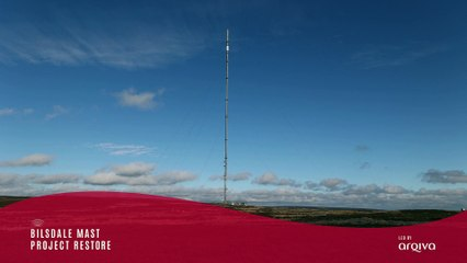 Watch as the Bilsdale TV mast is demolished via controlled explosions