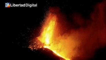 El volcán sigue aumentando su actividad tras dos semanas de erupción