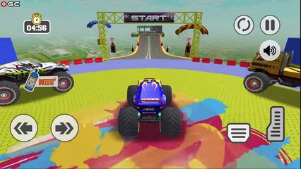 Monster Truck Impossible Tracks Stunts / Extreme 4x4 Truck Race / Android GamePlay #2
