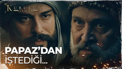 Osman Bey'in Papaz'dan istediği - Kuruluş Osman 65. Bölüm