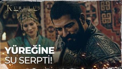Osman Bey, Malhun hatun'un yüreğine su serpti! - Kuruluş Osman 65. Bölüm