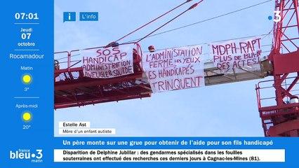 07/10/2021 - Le 6/9 de France Bleu Occitanie en vidéo