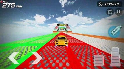 Crazy Car Stunts Mega Ramps / GT STUNT TRACK / 2021 New Car Driver Games / Android GamePlay #7