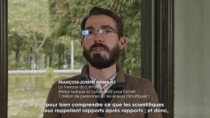 """Francois-Joseph Grimault, ingénieur, animateur et formateur de l'association """"la fresque du climat"""""""