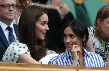 Meghan Markle y Kate Middleton enterraron el hacha de guerra con un intercambio de regalos