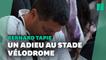 L'hommage à Bernard Tapie, au stade Vélodrome, des fans de l'OM