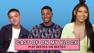 The On My Block Cast Reveals the Most Shocking Scenes to Film | Besties On Besties | Seventeen