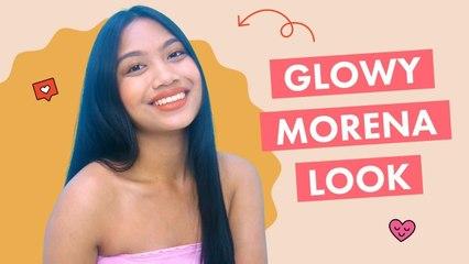 Glowy MORENA Makeup