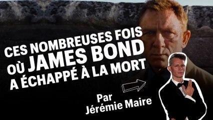 Ces nombreuses fois où James Bond a échappé à la mort