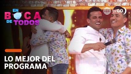 En Boca de Todos: Christian Domínguez y Pedro Loli se reconciliaron tras años de enemistad (HOY)