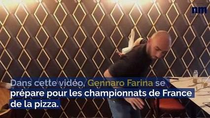 Ce pizzaïolo fréjusien nous livre sa recette pour tenter de devenir champion de France