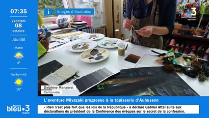 08/10/2021 - Le 6/9 de France Bleu Creuse en vidéo