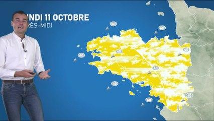 Illustration de l'actualité La météo de votre lundi 11 octobre 2021