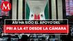 Apoyo del PRI a Reformas Constitucionales 4T