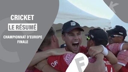 Résumé de la finale des championnats d'Europe de cricket 2021