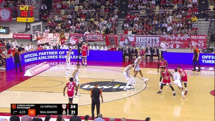 Olympiacos turns back Real | Round 2, Highlights | Turkish Airlines EuroLeague