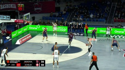 Milan shows Baskonia no mercy | Round 2, Highlights | Turkish Airlines EuroLeague