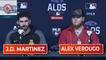 J.D. Martinez On His Return & Alex Verdugo On His Hot Streak   ALDS Game 2