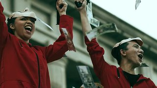 This Couple Had A -Money Heist- Inspired Prenup Shoot - PREVIEW