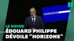 """Au Havre, Philippe dévoile le nom de son parti: """"Horizons"""", pour """"voir loin"""""""