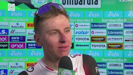 "Tour de Lombardie 2021 - Tadej Pogacar : ""It's crazy to finish the season like this"""