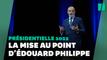 """Au Havre, Philippe critique la dette """"mais pas le président"""""""