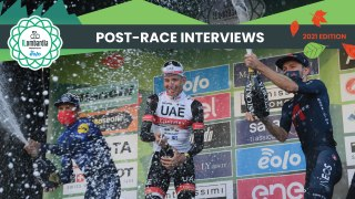 Il Lombardia presented by EOLO 2021 | Post-race interview