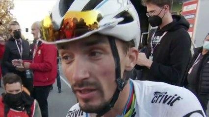 """Tour de Lombardie 2021 - Julian Alaphilippe : """"Peut-être qu'il me manquait un peu de confiance"""""""