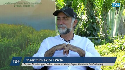 Altın Portakal Film Festivali | 'Kerr' film ekibi T24'te: Özellikle bu film için, görünmez hale gelen oyuncuları ortaya çıkarmak istedim