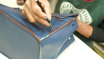 How a $10,000 Hermès Birkin handbag is professionally restored