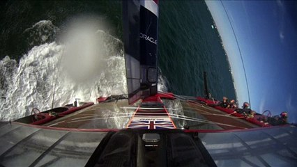 Sailgp Chavirage des Anglais