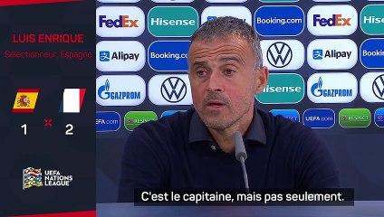 """Luis Enrique : """"Sergio Busquets est essentiel pour nous"""""""