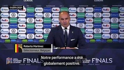 "Roberto Martinez : ""notre performance est globalement positive"""