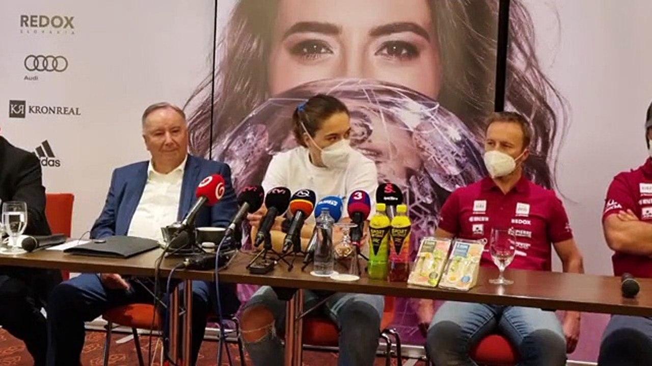 ZÁZNAM: TK s Petrou Vlhovou pred sezónou 2021/2022